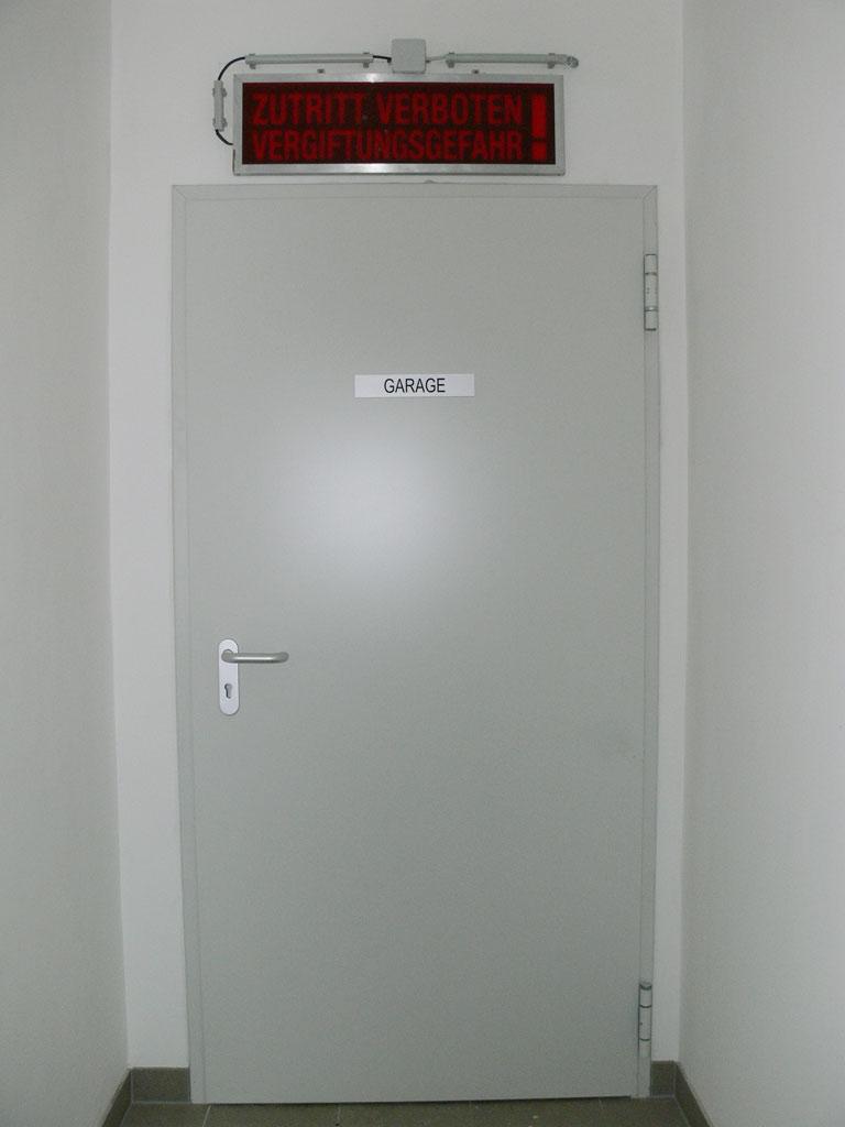 EI2_30 (T30) Brandschutztüre Stahl